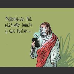 Resultado de imagem para Jesus cristo situações engraçadas