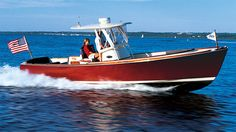 Hinckley - New support boat for the C Class at Hinckley Yachts, Center Console Boats, Boston Whaler, Classic Wooden Boats, Old Boats, Power Boats, Luxury Yachts, Animals Images, Salt And Water