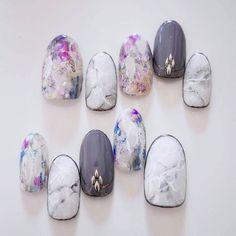 オーダーチップ #nail #nailart #naildesign #gel #gelart #art #beautiful #vetro…