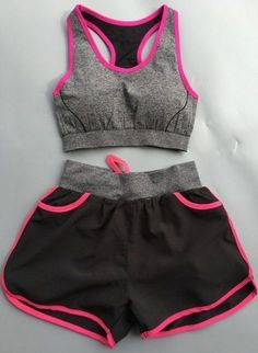 trajes | Cute Comfy Outfits, Sporty Outfits, Teen Fashion Outfits, Athletic Outfits, Summer Outfits, Girl Outfits, Workout Attire, Workout Wear, Sport Fashion