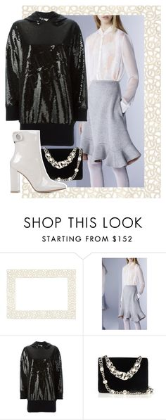 """""""Dress-up Hoodie"""" by dundiddit ❤ liked on Polyvore featuring Weissfee, Mary Katrantzou, Emilio Pucci, Miu Miu and Gianvito Rossi"""
