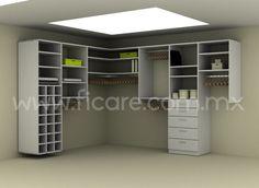 Closet Modelo 5  www.ficare.com.mx