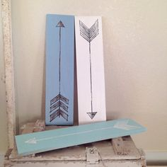 Arrow Sign Hand Painted by AverieLaneBoutique...my sister makes these.go get your arrow