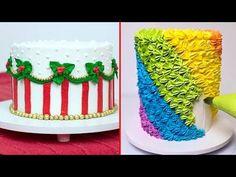 Amazing Cakes Decorating Techniques 2017  Most Satisfying Cake Style Video #CakeDecorating #123 - YouTube