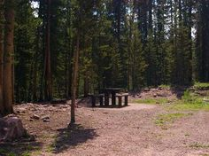 List of Campgrounds in Uinta-Wasatch-Cache National Forest  ...my soon to be camper will fit!