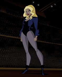 Black Canary Of Justice League Unlimited Black Canary 2 JL Unimited Female Superheroes And Villains, Dc Comics Superheroes, Bruce Timm, Comic Book Characters, Comic Character, Shakira, Black Canary Comic, Dinah Drake, Lance Black