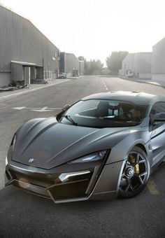 The W Motors Lykan Hypersport supercar may seem like vaporware, but it's set for a second auto show appearance in Monaco this week. Luxury Sports Cars, Most Expensive Sports Car, Expensive Cars, Chevy Camaro, Corvette, Aston Martin, Supercars, Ferrari, Gold Lamborghini