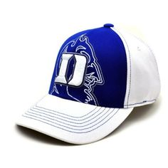 NCAA Duke Blue Devils Mixer 1 Fit Cap, White, One Size by Top of the World. $21.95. Contrast stitching. Mixer Wool Stretch Fit Hat. Wool 1Fit cap design. Six panel construction with eyelets. Embroidered graphics. Shield your eyes from the sun and enjoy a Blue Devils game while wearing this Duke Blue Devils Royal Mixer Wool Stretch Fit Hat. Made by Top of the World, this Duke Blue Devils hat features a 3D embroidered team logo on the front and a stitched secondary logo ...