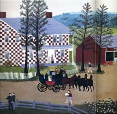 Grandma Moses. Where in the world did she get this idea?