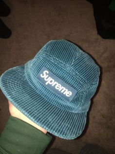 292cc838 BRAND NEW WAFFLE CORDUROY BLUE SUPREME HAT #fashion #clothing #shoes  #accessories #