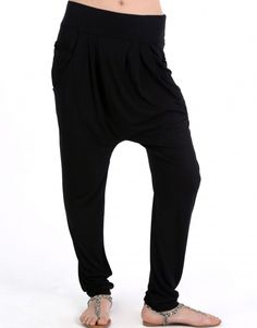 Harrem pants. I am making these for my ultimate go-too comfy pants