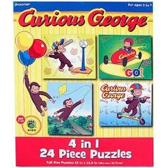 curious george puzzles