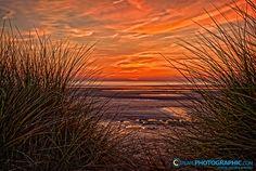 Westward Ho! beach, North Devon, England
