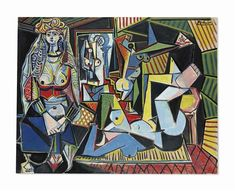 Pablo Picasso (1881-1973) Les femmes d'Alger (Version 'O') signed 'Picasso' (upper right); dated '14.2.55.' (