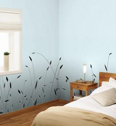 Large Floral Wallpaper Patterns Green Leaves And Tree Branches Wallpapers Design Modern That Combine Nature Inspired Motifs With