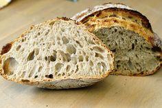Le pain – Le goût & l'odeur - Introduction au pain au levain Recette de pain au levain Pain au levain, nouvelle version améliorée