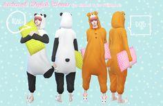 S:imadako tumblr-[Animal night wear - for MALE &for...
