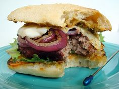 The Little Italy Burger | A Spicy Perspective    good golly Miss Molly!!!