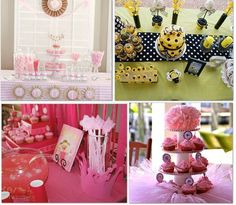 36 girl birthday party ideas partay-central-baby