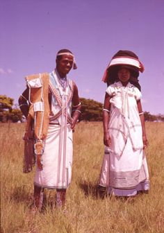 "Africa | Taken from the publication ""The Xhosa - and their traditional way of life"" by Aubrey Elliot African Wear, African Dress, African Fashion, African Style, Wedding Dresses South Africa, Xhosa Attire, Africa People, Traditional Wedding Dresses, African Design"