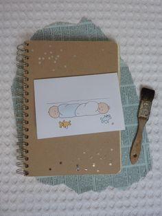 DIY twin babys card