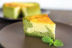 抹茶のマーブルベイクドチーズケーキ レシピブログ