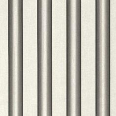 """46"""" Grey Black White Awning Stripe"""