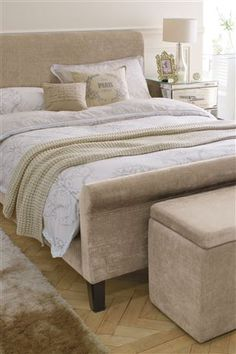 Buy Portofino Mink Bedstead from the Next UK online shop