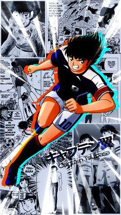 Captain Tsubasa, Olive Et Tom, Benfica Wallpaper, Super Mario World, Black Panther Marvel, Kawaii Anime, Haikyuu, Marvel Comics, Character Design