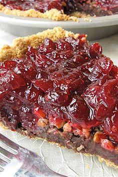 Receta de arándano dulce de azúcar-Pie