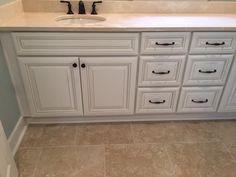Bathroom Vanity Tops, Porcelain Tile, Double Vanity, Marble, Facebook, Porcelain Tiles, Granite, Marbles, Double Sink Vanity