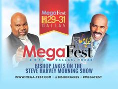 Bishop Jakes - Steve Harvey Interview (7/23/13)