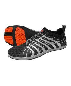 Black  amp  Silver Cinch 2 Ninja Minimalist Running Shoe by ZEMgear  zulily   zulilyfinds 620c761b5