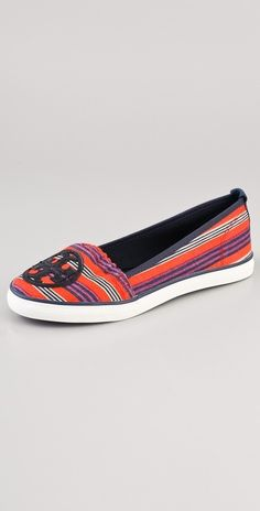 Tory Burch Slip On Sneakers thestylecure.com
