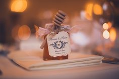 Honey Wedding Favors, Place Cards, Place Card Holders, Table Decorations, Dinner Table Decorations