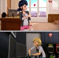 I present the match made in Heaven: Marinette  and Adrien