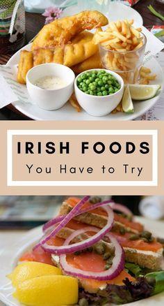 Must-try Irish Foods***** Irish Food | Food | Best Food | Food in Ireland | What to Eat in Ireland | Irish Breakfast | Irish Stew
