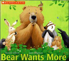 Crazy Speech World: Bear Wants More Speech & Language Activities!