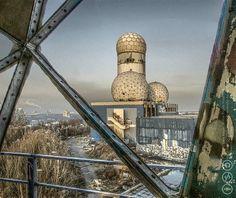 Teufelsberg: Abandoned Cold War Listening Station Built on an Artificial Hill ~ Kuriositas