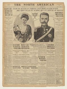 a summary of events that triggered world war i Section 1 assassination of franz ferdinand page 1, 2 - information sheets page 3 - curriculum levelled activities page 4 - assassination - blank newspaper writing frame.