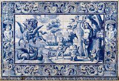 Azulejos: piastrelle in stile portogheseBagni dal mondo | Un blog sulla cultura dell'arredo bagno