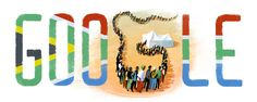Google Doodle Freedom Day 2015 #freedomday #southafrica