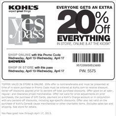 Today's Best Kohl's Deals