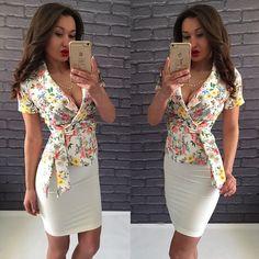 Костюм женский блуза и юбка в расцветках 17405, фото 1    http://bole-ro.com.ua/p518506421-kostyum-zhenskij-bluza.html