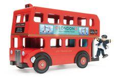 Le Toy Van - TV469 - Figurine - Le Bus de Londres et son Conducteur: Amazon.fr: Jeux et Jouets