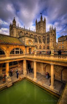 Roman Baths, Bath, Somerset, UK . . . I loved Bath.  Visited while in the UK.