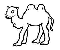 18 best Camel Coloring Pages images on Pinterest | Camel, Coloring ...