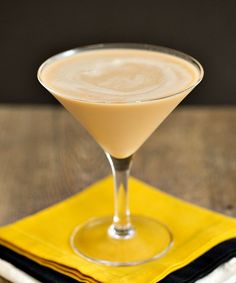 The Dirty Banana: 1 1/2 parts Banana Liqueur, 1 1/2 ounces Dark Crème de Cacao, 1 ounce heavy cream. How to: Combine the ingredients in a cocktail shaker with ice. Strain the contents of the shaker into a chilled cocktail glass, and serve.