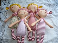 Doll Crafts, Diy Doll, Sewing Crafts, Softies, Doll Toys, Baby Dolls, Operation Christmas Child, Fabric Toys, Creation Couture