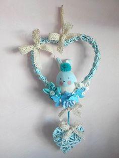 Fiocco nascita coniglietto azzurro! www.minimondodianita.com